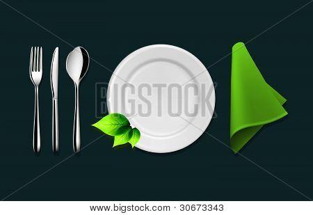 Vector Tableware Set