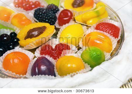 Delicious fruit marmalade