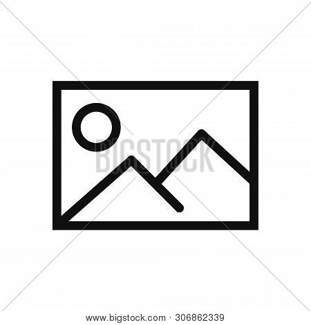 Picture Icon Isolated On White Background. Picture Icon In Trendy Design Style. Picture Vector Icon