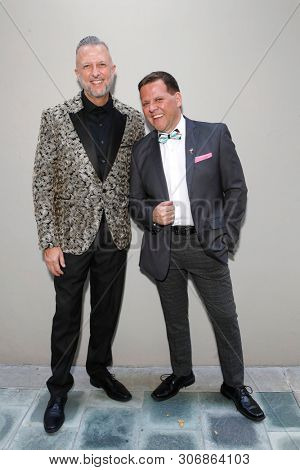LOS ANGELES - JUN 9: Keith McNutt, Chester McCurry at The Actors Fund's 23rd Annual Tony Awards Viewing Gala honoring Lily Tomlin at the Skirball Cultural Center on June 9, 2019 in Los Angeles, CA