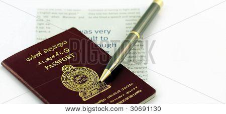Sri Lankan Passport Travel Document