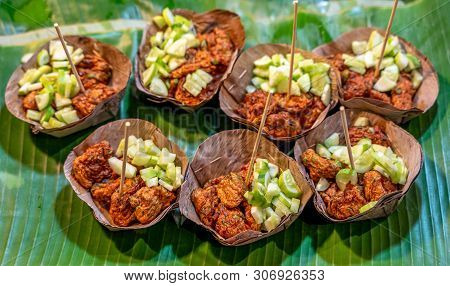 Thai Fried Fish Cakes Or Known As Tod Mun Pla.