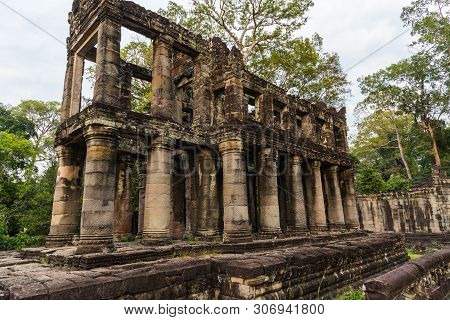 Angkor Thom In Angkor Archaeological Park In Cambodia, United States