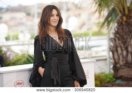 CANNES, FRANCE - MAY 19, 2019: Monica Bellucci attends the photocall for