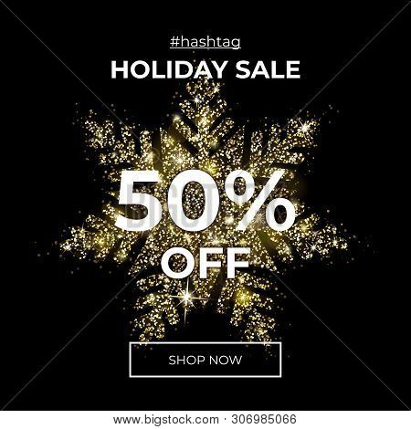 Holiday Sale 50 Vector Photo Free Trial Bigstock