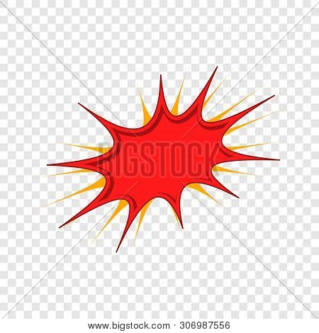 Burst Icon. Cartoon Illustration Of Burst Vector Icon For Web