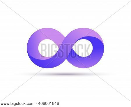 Infinity Logo Symbol Loop Icon, Infinite 8 Mobius Cycle