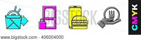 Set Online Ordering Noodles Delivery, Online Ordering And Delivery, Online Ordering And Delivery And