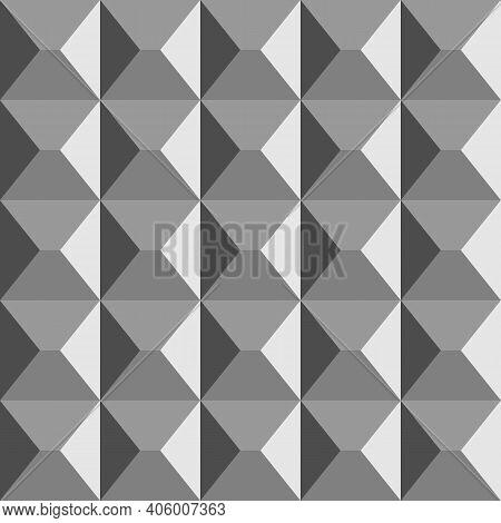 Boris Lakhman S Reinforced Concrete Fence. Cement Wall Background. 3d Seamless Geometric Pattern. Ve