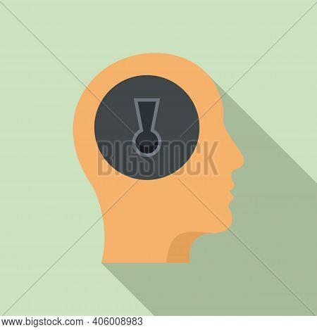 Mind Skills Icon. Flat Illustration Of Mind Skills Vector Icon For Web Design