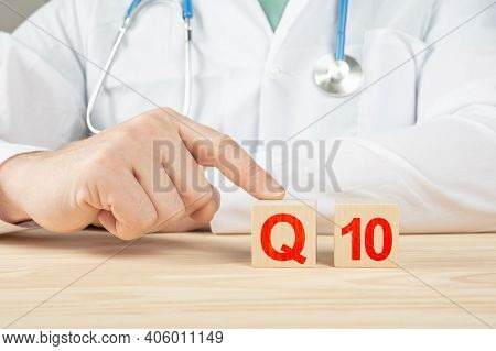 Essential Vitamins And Minerals For Humans. Doctor Recommends Taking Coenzyme Q10. Doctor Talks Abou