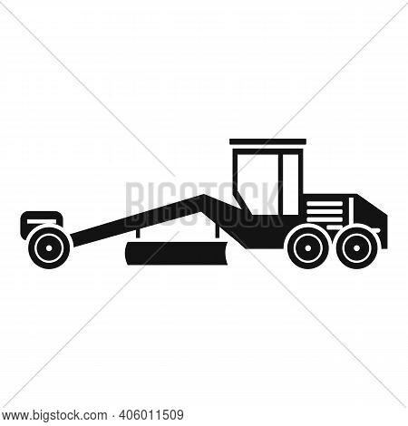Grader Machine Heavy Icon. Simple Illustration Of Grader Machine Heavy Vector Icon For Web Design Is