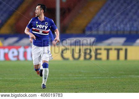 Maya Yoshida Of Uc Sampdoria  During The Serie A Match Between Uc Sampdoria And Juventus Fc At Stadi