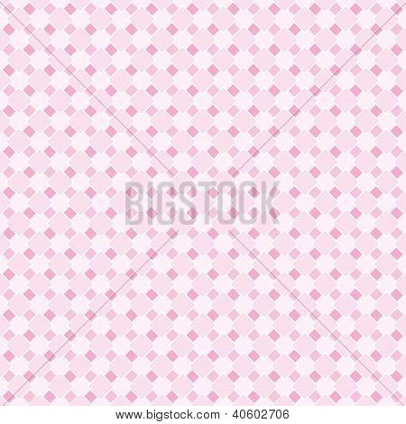 Seamless vector pattern, texture or background in pastel baby pink for website, wallpaper, desktop, invitation, wedding, baby shower or birthday card and scrapbook. Sweet pink and white vintage texture. poster