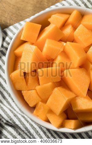 Homemade Raw Organic Cantaloupe