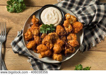 Homemade Spicy Buffalo Cauliflower Wings