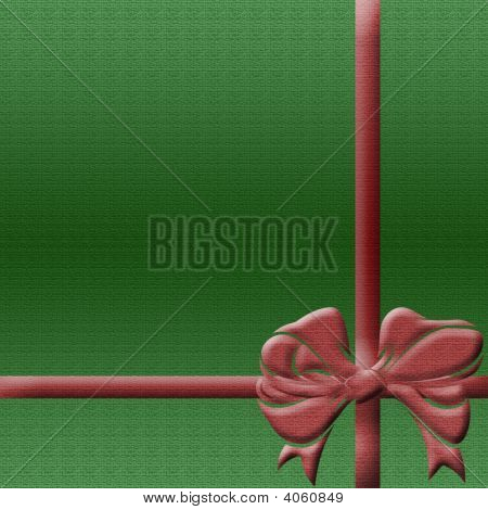 Green Greeting Background
