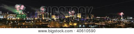 eine neue Year Silvester in Las Vegas erschossen