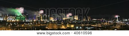 A New Year's Eve In Las Vegas Shot