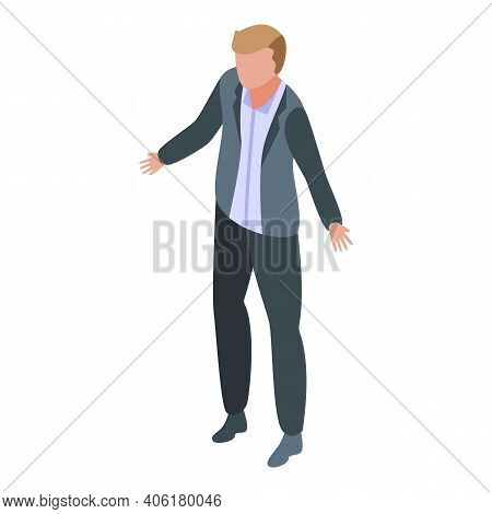 Business Cooperation Icon. Isometric Of Business Cooperation Vector Icon For Web Design Isolated On