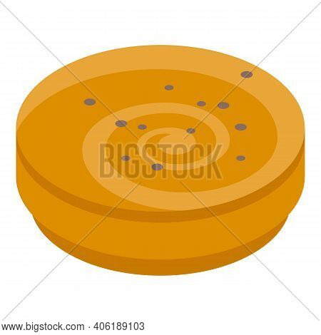 Bakery Cook Icon. Isometric Of Bakery Cook Vector Icon For Web Design Isolated On White Background