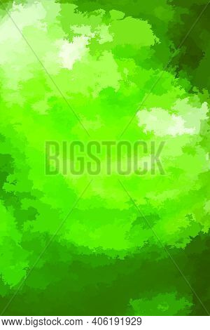 Abstract Modern Vector Background, Vertical Format. Digitally Generated Contemporary Wallpaper. Vibr