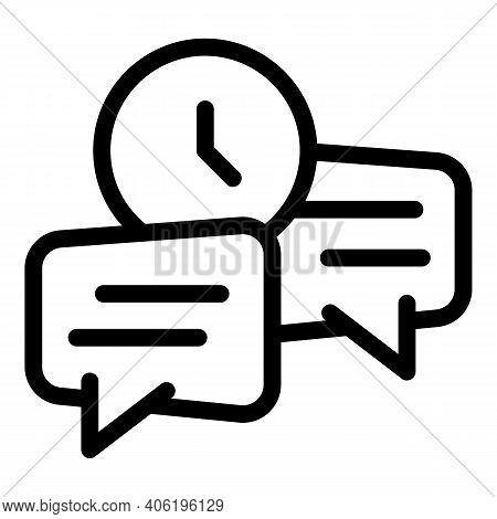 Quick Tips Icon. Outline Quick Tips Vector Icon For Web Design Isolated On White Background