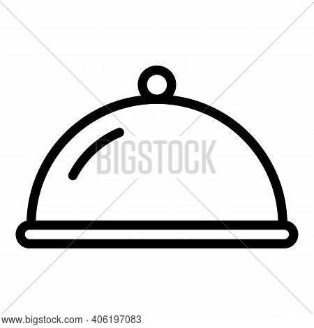 Plane Meal Icon. Outline Plane Meal Vector Icon For Web Design Isolated On White Background