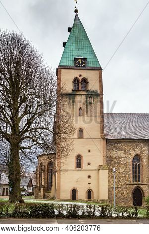 The Evangelical Lutheran Parish Church Of St. Marien In Lemgo, Germany