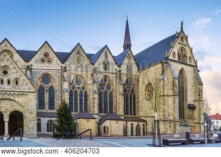 Paderborn Cathedral (german: Paderborner Dom) Is The Cathedral Of The Catholic Archdiocese Of Paderb