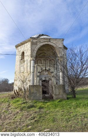 Sixteenth Century Ottoman Tomb Of Hazar Baba (hazar Baba Tyurbe) In Village Of Bogomil, Haskovo Regi