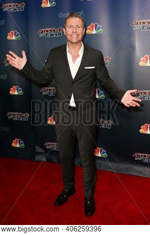 NEW YORK-SEP 16: Ventriloquist Paul Zerdin attends the America's Got Talent Season 10 Finale taping at Radio City Music Hall on on September 16, 2015 in New York City.