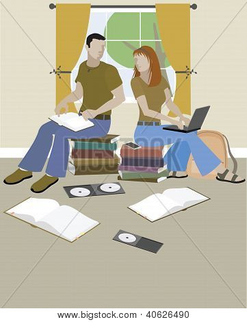 Teens On Books