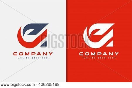 Abstract Initial Letter A Logo Design. Usable For Business, Community, Tech, Sport, Industry, Servic
