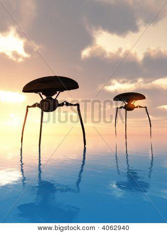 Sea Tripods