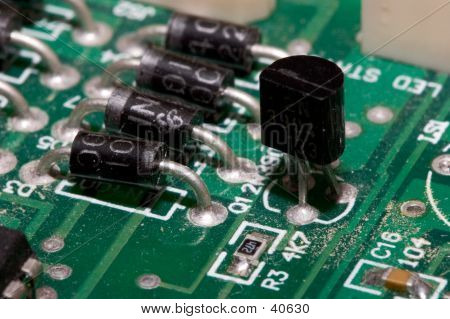 Transistor On PCB