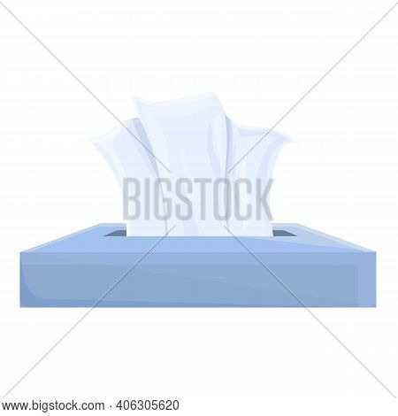 Tissue Paper Icon. Cartoon Of Tissue Paper Vector Icon For Web Design Isolated On White Background
