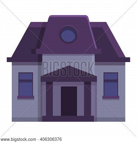 Celebration Creepy House Icon. Cartoon Of Celebration Creepy House Vector Icon For Web Design Isolat