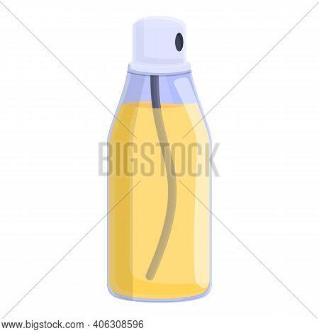 Air Freshener Oil Bottle Icon. Cartoon Of Air Freshener Oil Bottle Vector Icon For Web Design Isolat