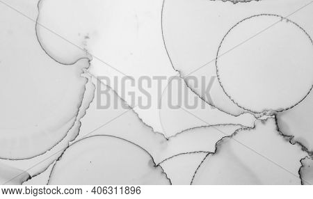 Grey Marble Texture. Abstract Wallpaper. Watercolor Ceramic Surface. Rock Wall Design. Gray Marble T