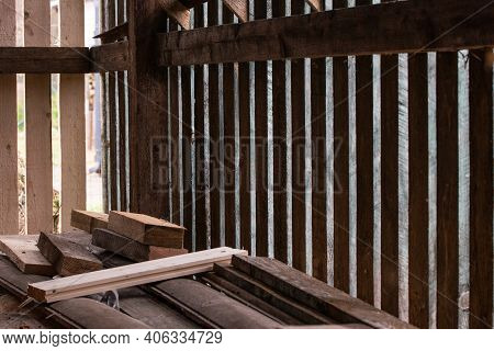 Timber Warehouse In Home. Best Way To Store Timber.