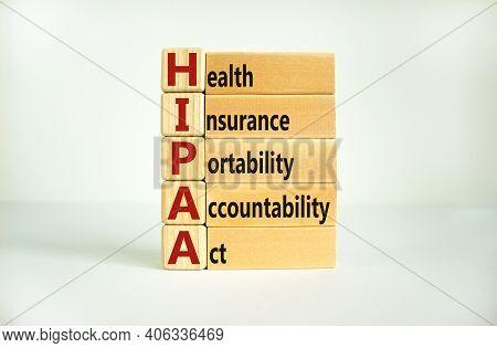 Hipaa, Health Insurance Portability And Accountability Act Of 1996 Symbol. Words 'hipaa, Health Insu