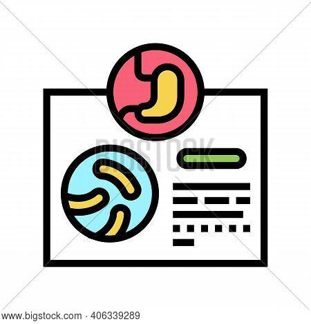 Prescription Probiotics Color Icon Vector. Prescription Probiotics Sign. Isolated Symbol Illustratio