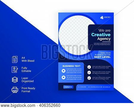 Corporate Business Modern Flyer Template. Brochure Design, Cover Modern Layout, Annual Report, Poste