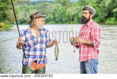Crazy Hobbies. Fly Fishing Time. Hobby. Camping On The Shore Of Lake. Big Game Fishing. Friendship.