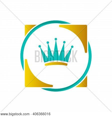 Crown Icon Trendy And Modern Crown Symbol. Creative Design Crown On The White Background. Vector Ill