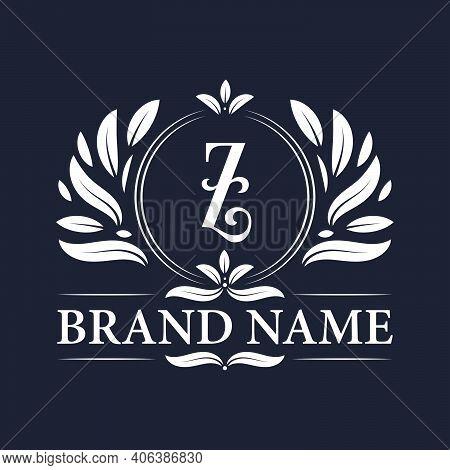 Alphabet Z Letter Logo Design. Vintage, Luxurious & Ornamental Luxury Letter Z Logo Design Template.