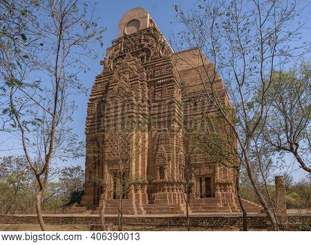 Teli Ka Mandir, Dating From The 9th Century, Is The Tallest Building In Fort Gwalior. India