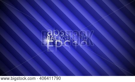Eps10 Vector Illustration. Background With Three-dimensional Effect Composed Of Bands With Different