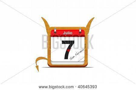 July 7, San Ferm�n.